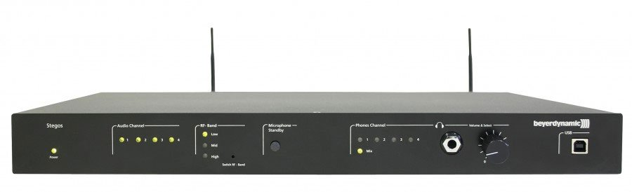 Beyerdynamic STEGOS-RS Digital Diversity Receiver, No Mic STEGOS-RS