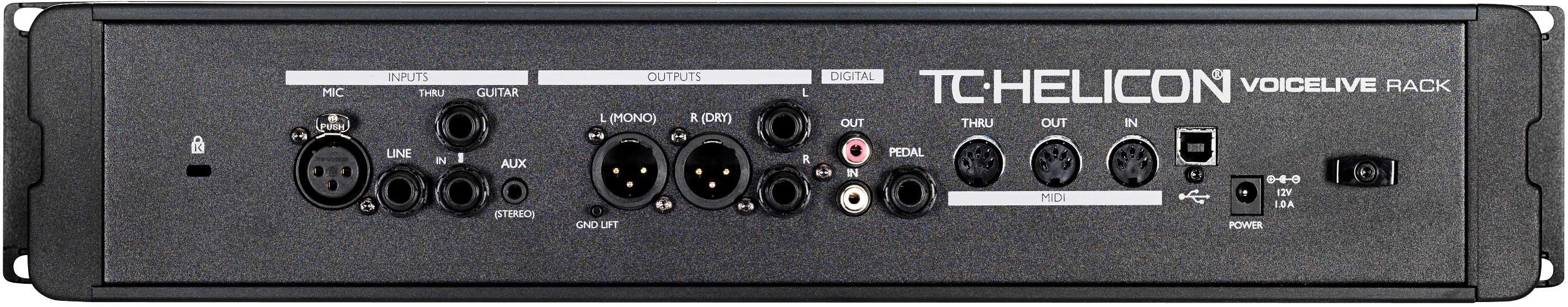 Processor, Vocal Rack Unit