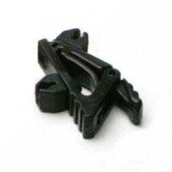 Single Tie Clip for B3 Omni Lavalier, set of 1 black and 1 white