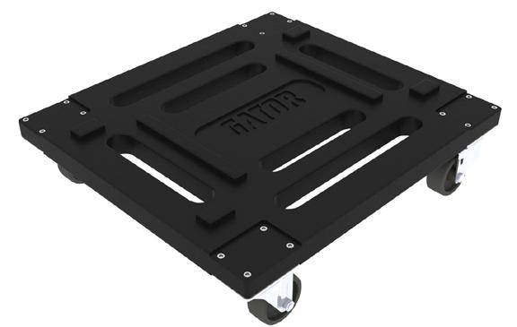 Molded Caster Kit for Gator Racks Cases