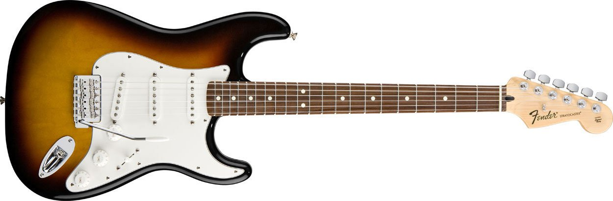 Electric Guitar in Brown Sunburst Finish