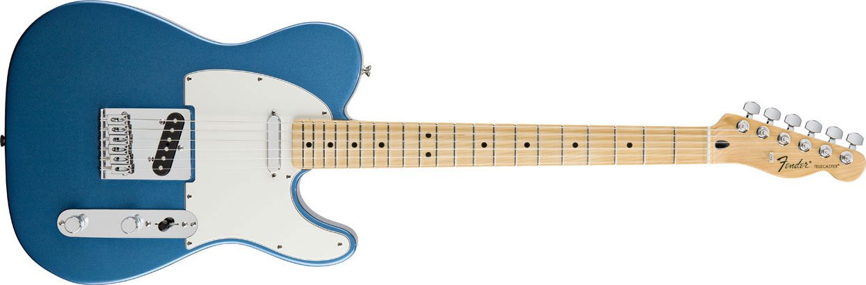 Electric Guitar with Maple Fretboard
