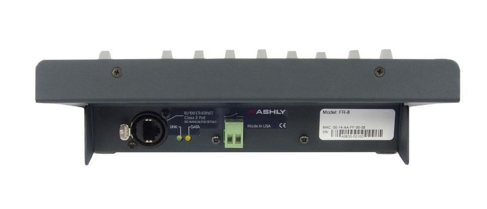 8 channel Network Fader Remote Control