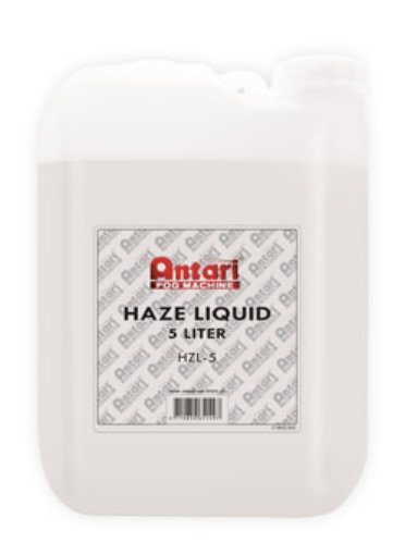 5 Liter Container of Oil-Based Haze Fluid