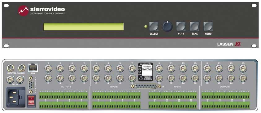 Switcher 32x16 RGB Matrix RPS