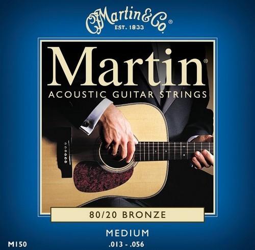 3-Pack of Medium 80/20 Bronze Acoustic Guitar Strings