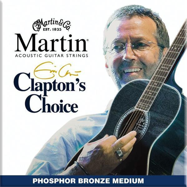Medium Clapton's Choice Phosphor Bronze Acoustic Guitar Strings