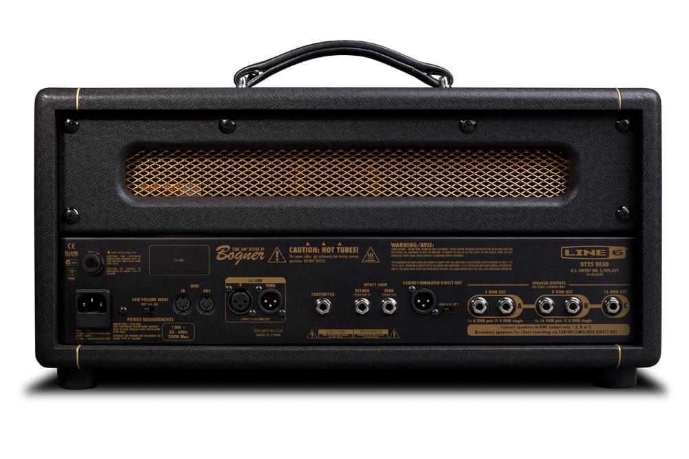 25W 2 Channel Tube Guitar Amplifier Head