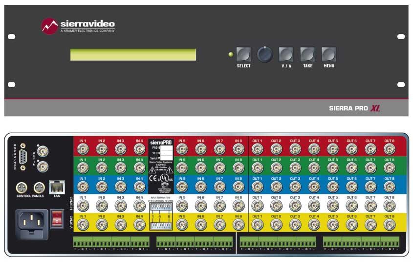 Switcher 32x32 RGBHV w/RPS IP