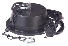 """Mirror Ball Motor, 6 RPM, Holds up to 12"""""""