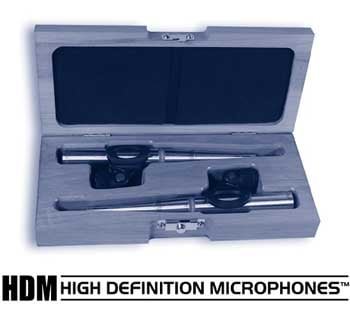 Matched Pair of SR30 Hypercardioid Small Diaphragm Condenser High Definition Microphone (Formerly SR78)