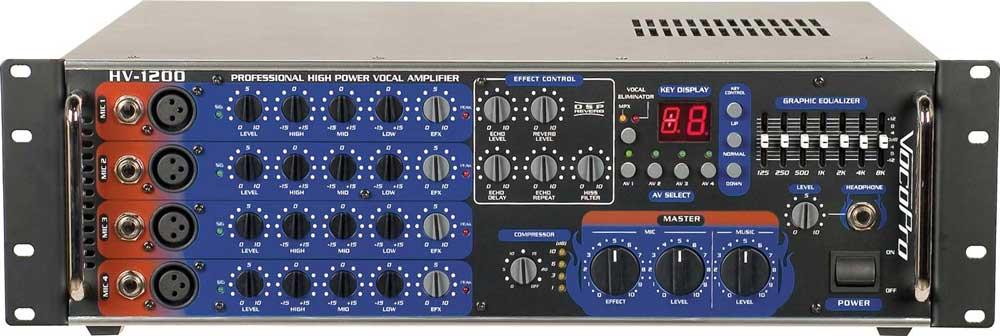 Vocal Amp, 600 Watt