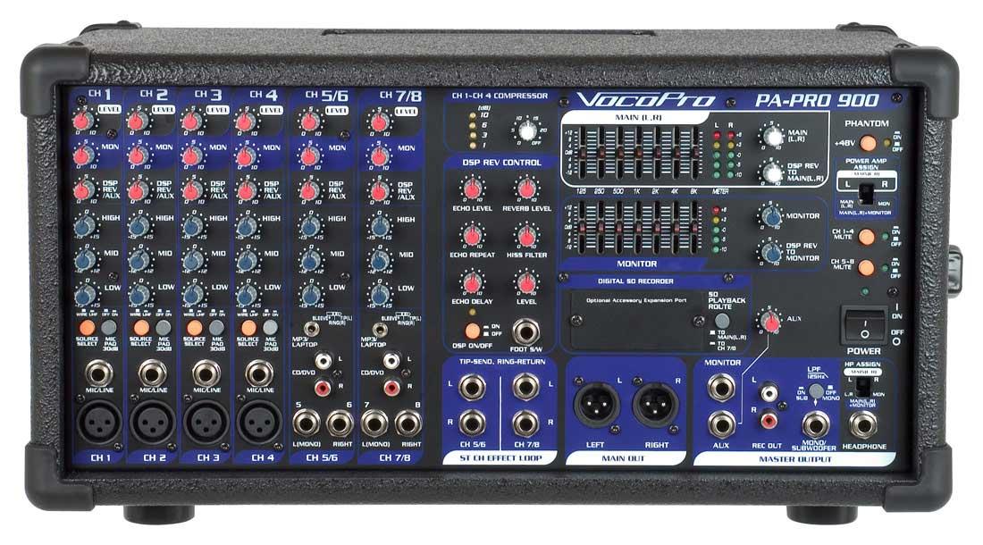 PA Mixer, 900 Watt