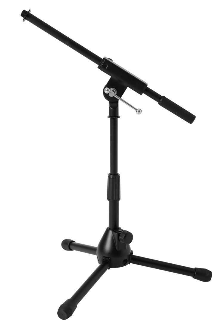 Short Microphone Stand with Fixed Length Boom Arm