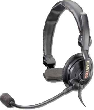 Slimline Single Headset for MC-1000 Competitor 2-Way Radio