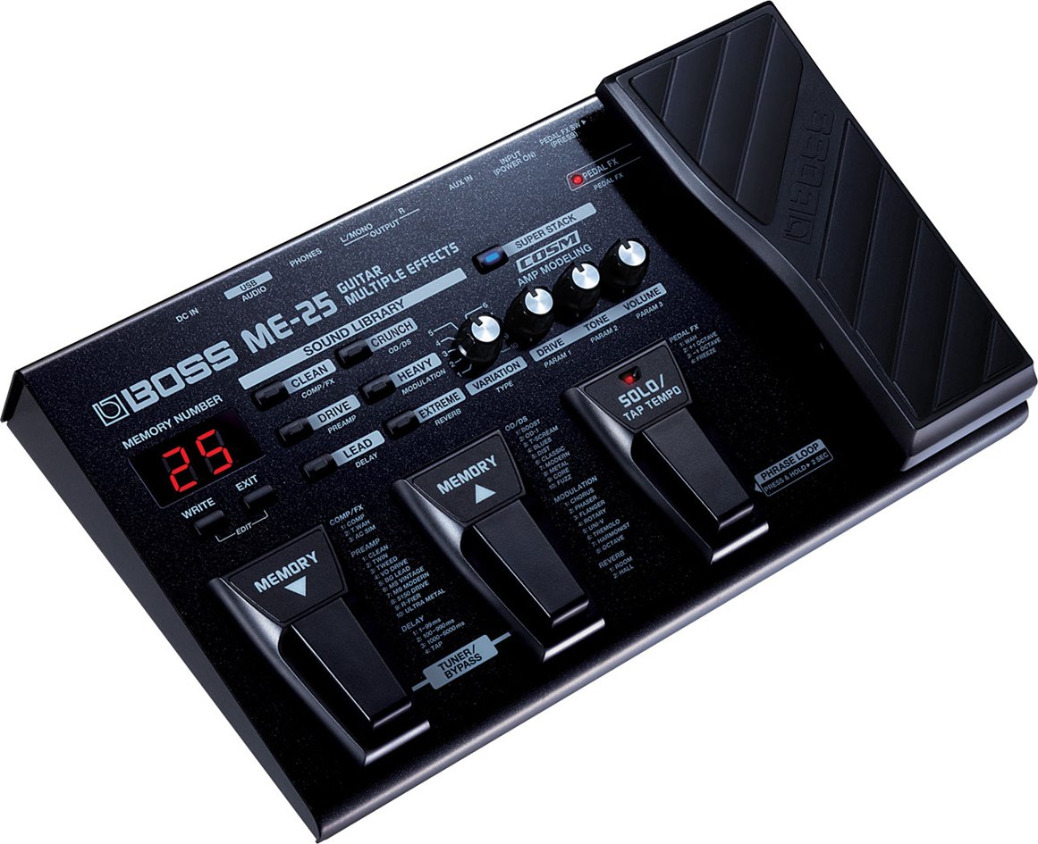 Guitar Multiple Effects Pedalboard [HOW]