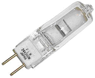 24V, 300W, T4, GY6.35 Base Projection Bulb