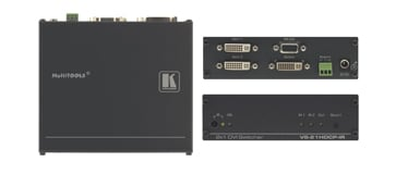2x1 HDCP Compliant DVI Video Switcher