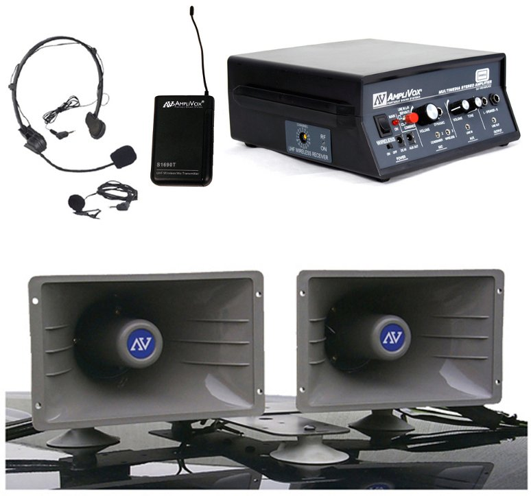 Wireless Sound Cruiser Car PA System