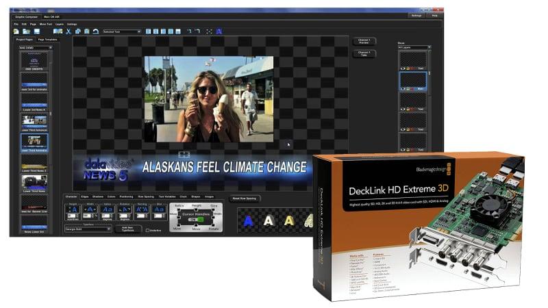 Datavideo Corporation CG300-KIT CG300 with Decklink Card CG300-KIT