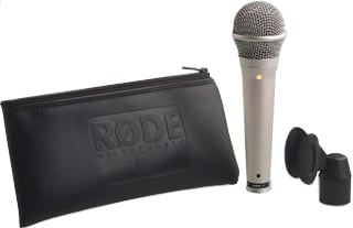 Rode S1 Handheld Performance Super Cardioid Condenser Mic S1-RODE