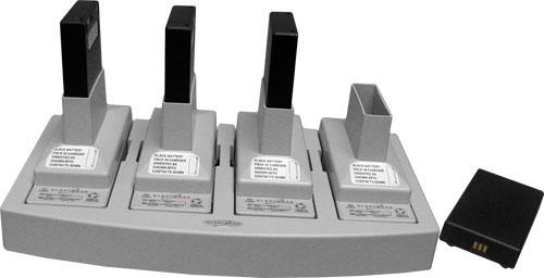 Battery Recharger, 4 WBS batteries