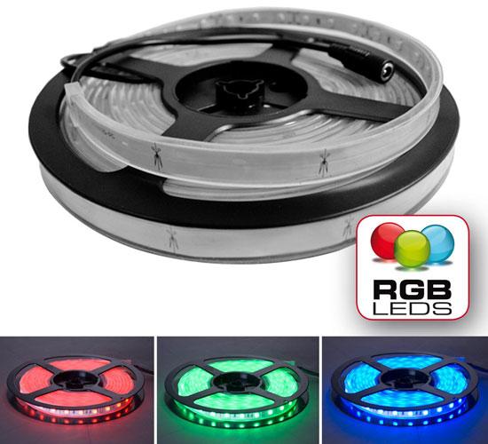 LED RGB Flex Tape Roll, 10ft.