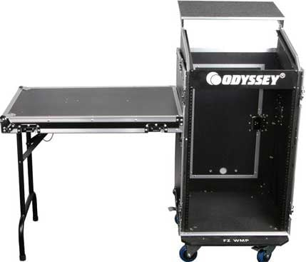 Glide Style Combo Rack Case with Wheels