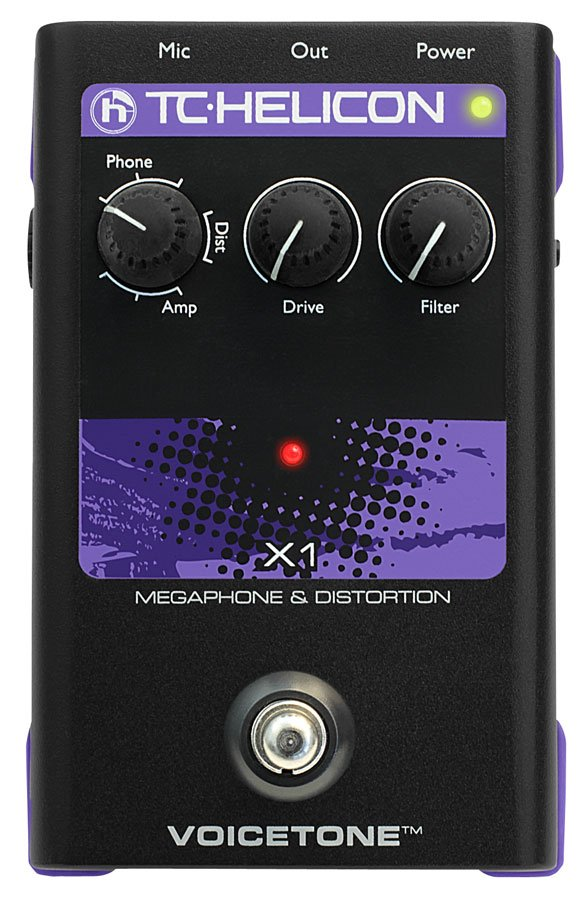 Pedal, Megaphone w/Distortion