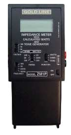 Goldline ZM1P Impedance Meter with Overload Protection ZM1P