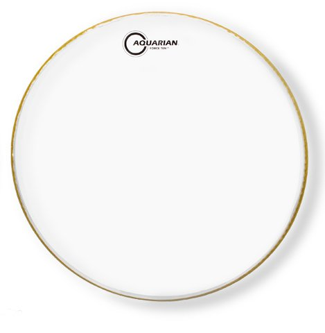 "10"" Force Ten Clear Drum Head"