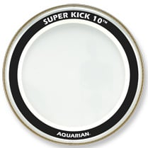 "18"" Super-Kick 10 Two-Ply Clear Bass Drum Head"