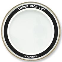 "Aquarian Drumheads SK10-26 26"" Super-Kick 10 Two-Ply Clear Bass Drum Head SK10-26"