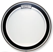 "20"" Super-Kick II Two-Ply Clear Drum Head"