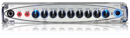 800W Lightweight Bass Amplifier Head