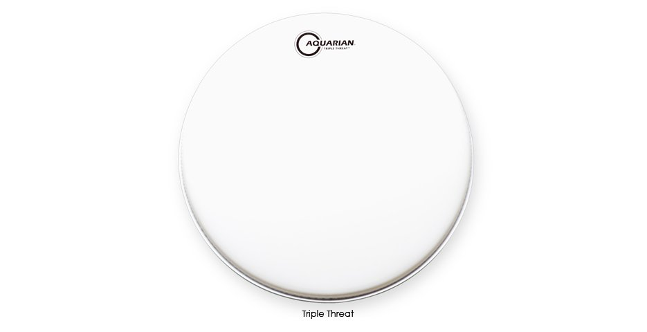 "13"" Triple Threat Snare Drum Head"
