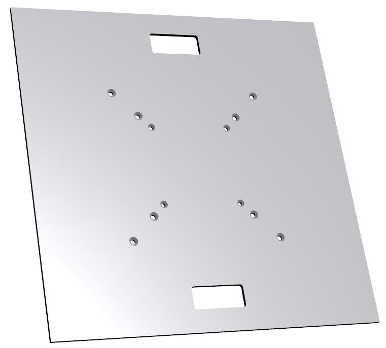 """30"""" x 30"""" Aluminum Truss Baseplate"""