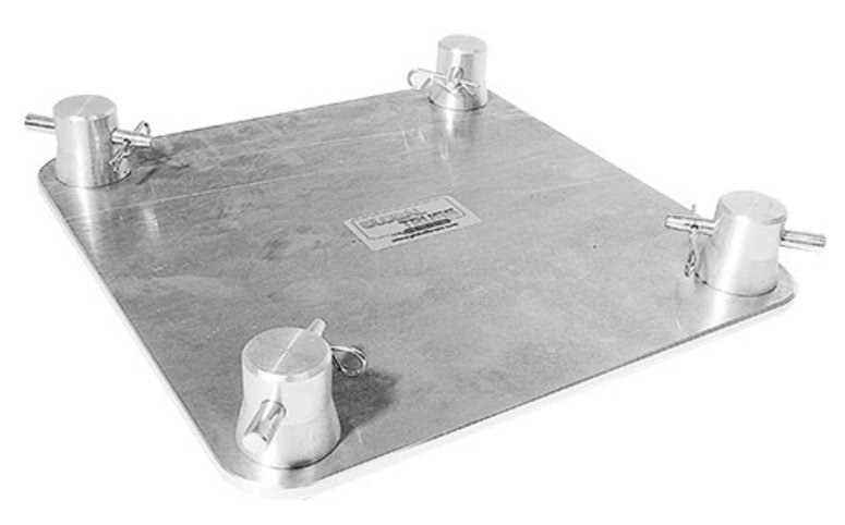 """8.5""""x8.5"""" Base Plate for F24 Square Truss"""