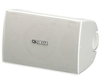 1 Pair of 70V Surface Mount Speakers in White - 30 Watt @ 8 Ohms
