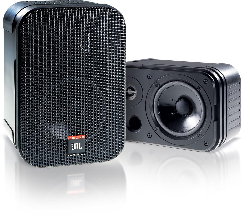 JBL Control 1 Pro 2 Way Compact Speaker in Black CONTROL-1-PRO