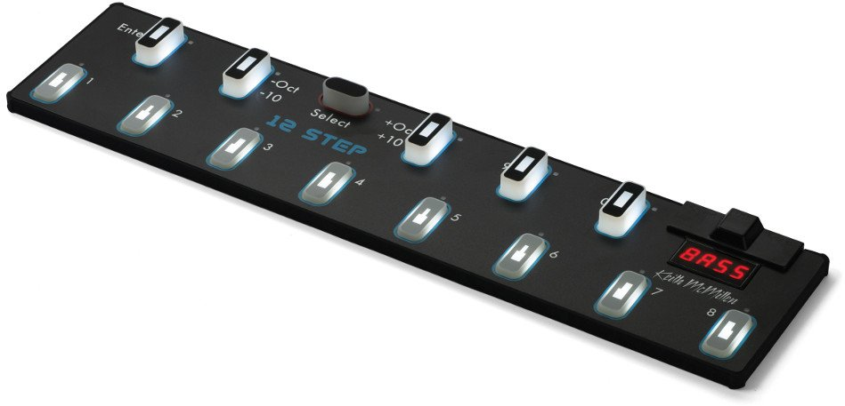 Keith McMillen Instrument 12 Step USB / MIDI Foot Controller 12-STEP
