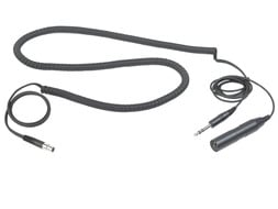 "Cable, Headset, XLR Male to 1/4"" Male"