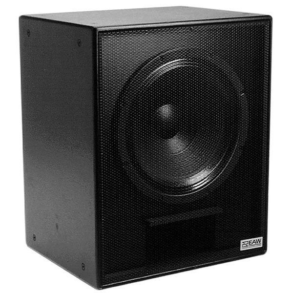 "EAW-Eastern Acoustic Wrks SB180zP 18"" Black Compact Subwoofer with Mount SB180ZP-BLACK"