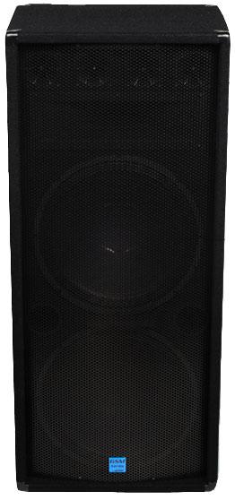 """Dual 15"""" Loudspeaker"""