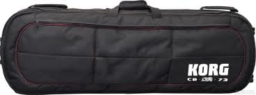 Padded 73-Key SV-1 Electric Stage Piano Gig Bag with Wheels