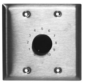 Stereo Volume Control - 150 Watts for 70/100V Speaker Lines