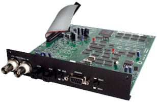 Optional 2 Channel Output Card, 192kHz