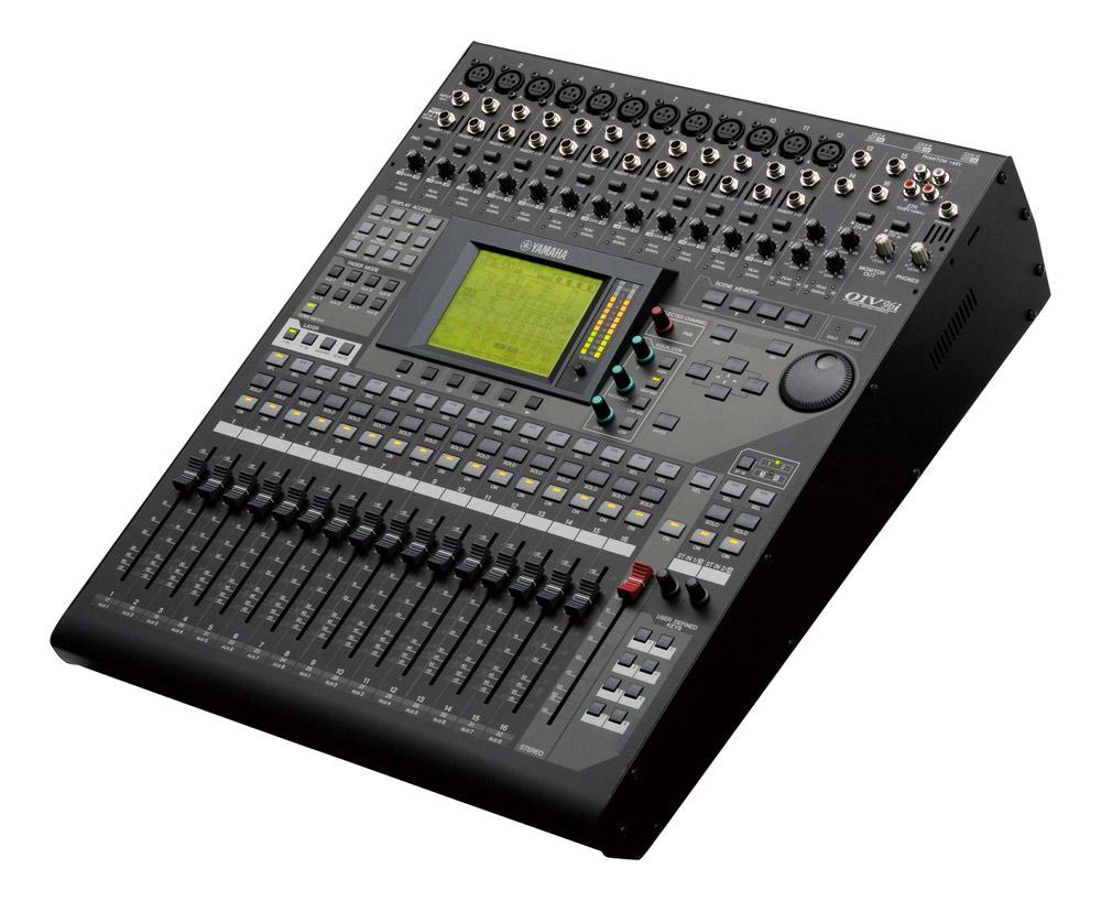 16 Input 24-bit 96 kHz Digital Mixer