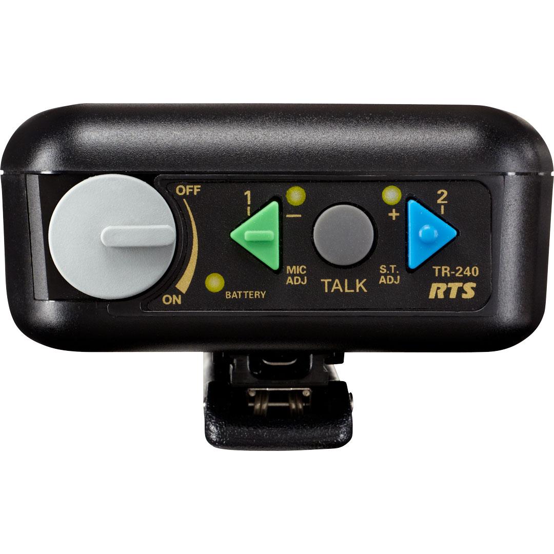 Beltpack w/A4F Headset Jack