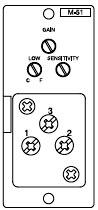 Mic-Preamp Module with Gate, Terminal Block, Screw Terminal